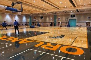 Equipos de la NBA ya se instalaron en Orlando