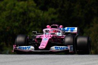 Fórmula Uno: Sergio Pérez el más rápido en los entrenamientos