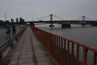 El Río Paraná volvió a llegar al metro de altura - Imagen ilustrativa. -