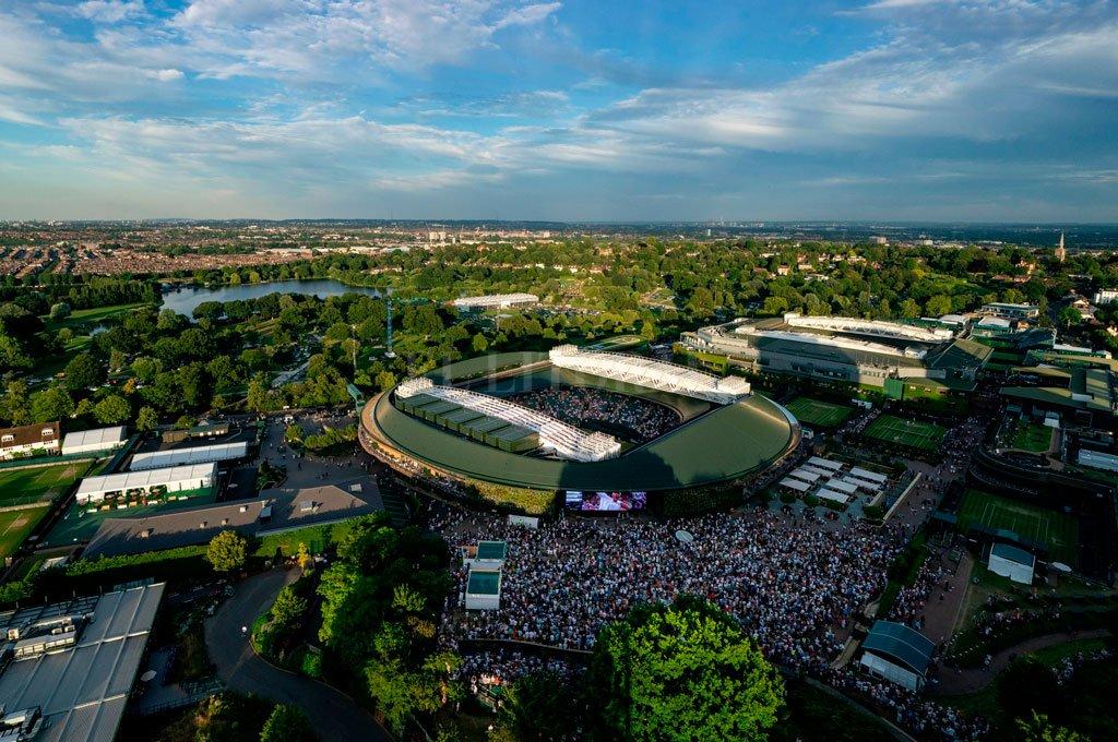 Crédito: @Wimbledon