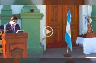 De no creer: un intendente jujeño copió el discurso para el acto del 9 de julio de una película