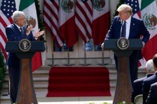 López Obrador defendió su visita a EEUU y sus elogios a Trump