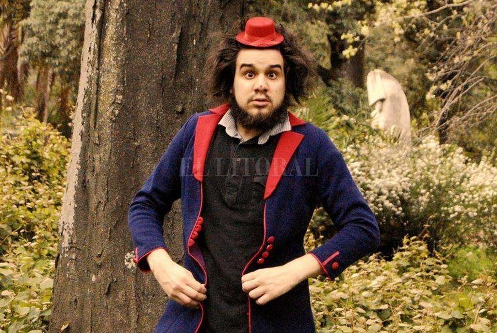 """Dalmasso piensa al clown como """"un alquimista de emociones, un creador, un provocador de risas y sensaciones"""". Crédito: Archivo El Litoral"""