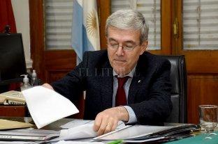 Leve superávit con endeudamiento - Walter Agosto, ministro de Economía de la provincia. -
