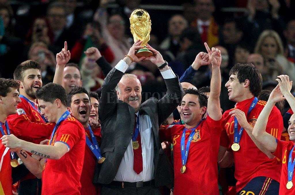España, campeón en Sudáfrica. Crédito: Archivo El Litoral