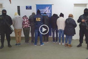 Megaoperativo en Rosario e Ibarlucea: 34 allanamientos y 11 detenidos -  -