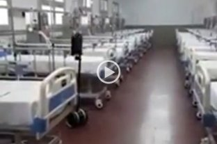 "Video: un ""robot enfermero"" atiende casos de coronavirus en Corrientes"