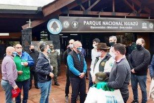 Las Cataratas del Iguazú volvieron a recibir visitantes  -  -