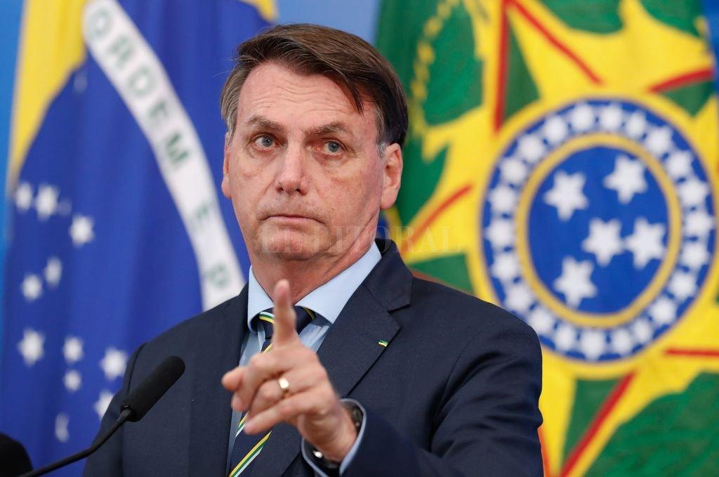 El presidente de Brasil, Jair Bolsonaro Crédito: Archivo El Litoral