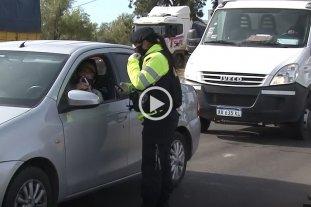 La provincia impidió el acceso de 70 vehículos en las últimas 24 horas -  -
