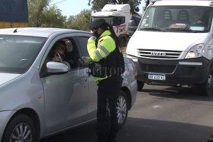 La provincia impidió el acceso de 70 vehículos en las últimas 24 horas