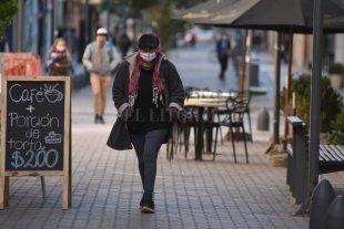 Frío lunes en la ciudad de Santa Fe