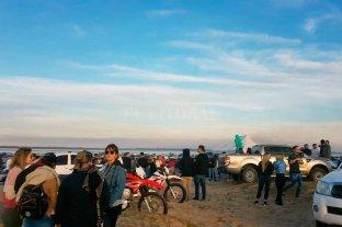 Polémica por una fiesta en la playa de El Chaquito -