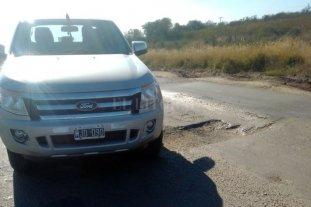 WhatsApp de Campolitoral: desde San Cristóbal reclaman por el mal estado de la Ruta 2