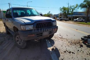 Siniestro fatal en la Ruta Provincial 1, a la altura de Helvecia -