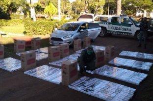 Secuestran cerca de 8 mil atados de cigarrillos de contrabando en Misiones