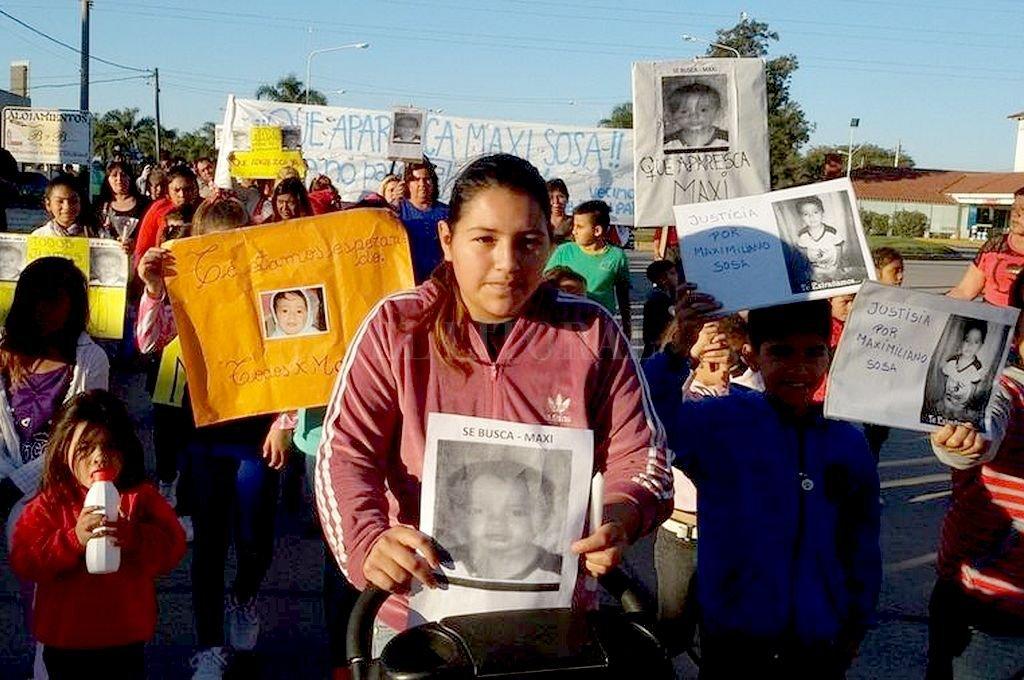 """Pidieron enjuiciar a la abuela de """"Maxi"""" Sosa y a su pareja - Daniela Sosa, la mamá de """"Maxi"""", no pierde las esperanzas de poder encontrar a su hijo perdido hace casi cinco años. -"""