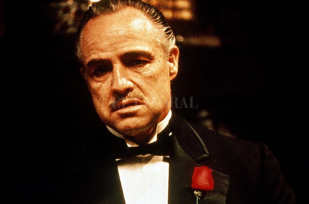 Marlon Brando en el papel de Vito Corleone.  Crédito: Archivo El Litoral