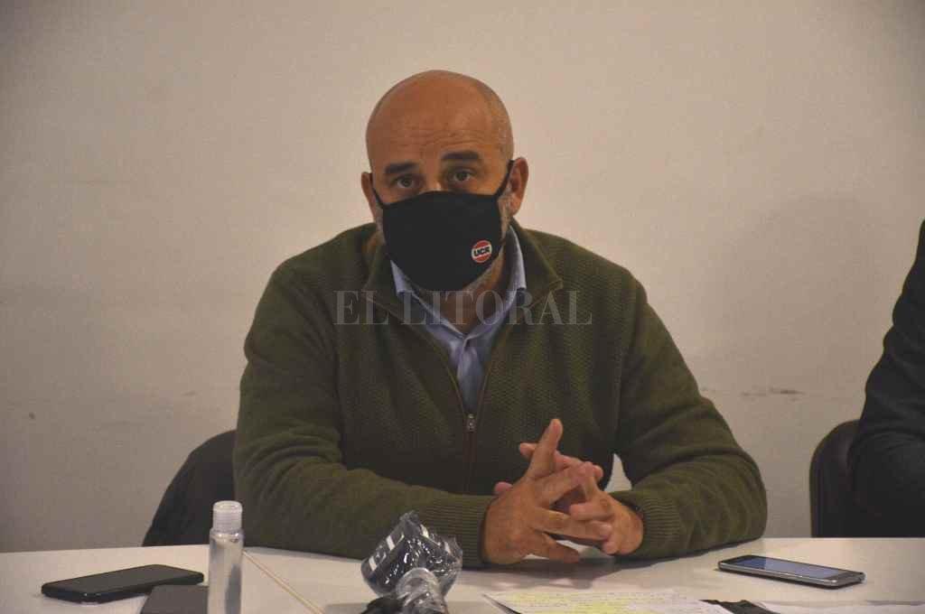 Fabián Palo Oliver preside la Comisión de Asuntos Laborales y es muy crítico del texto votado por el Senado.    Crédito: Guillermo Di Salvatore