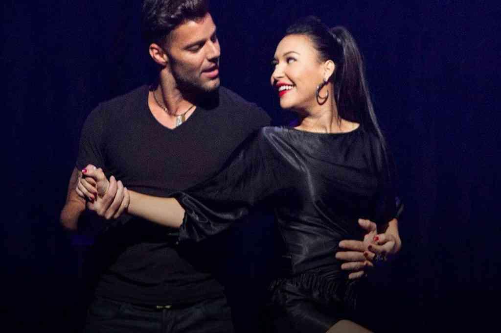 El día que Naya Rivera y Ricky Martin cantaron juntos