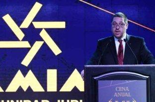 """""""Produce mucho dolor que nadie haya pagado por la masacre cometida"""" dijo el presidente de AMIA"""