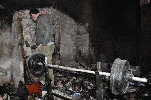 Se incendió un galpón en barrio Belgrano -  -