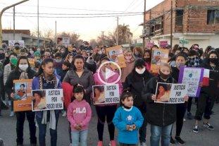 Reconquista reclamó justicia por el crimen de Rocío Vera -  -