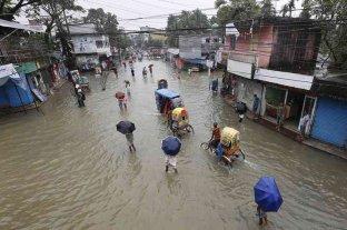 Millones de afectados por las inundaciones en el sur de Asia
