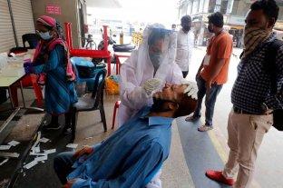India alcanzó un nuevo récord en casos positivos de coronavirus