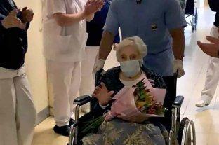 Tras 36 días internada, una mujer de 101 años superó el coronavirus