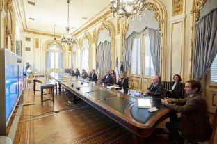 Diálogo con sindicalistas y empresarios para la creación de un Consejo Económico y Social