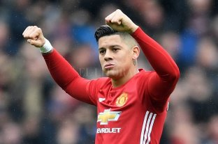 Manchester United declaró transferible a Marcos Rojo
