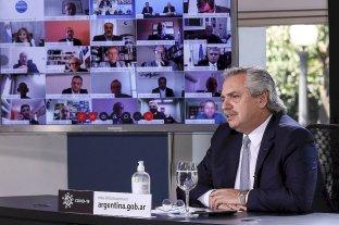 Fernández se reunió con Kicillof y Rodríguez Larreta y anunciará el viernes cómo sigue la cuarentena