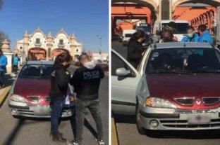 Detienen a un conductor que agredió a un agente de tránsito en un control vehicular