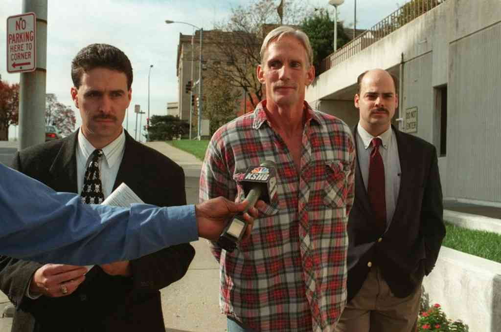Wesley Ira Purkey tras su arresto en 1998. Crédito: Agencias