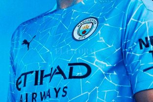 Manchester City presentó su nueva camiseta