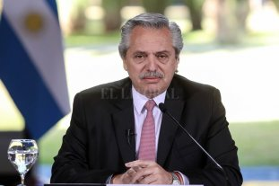 """Alberto Fernández: """"Ahora tenemos despejado el horizonte"""" - El presidente Alberto Fernández -"""