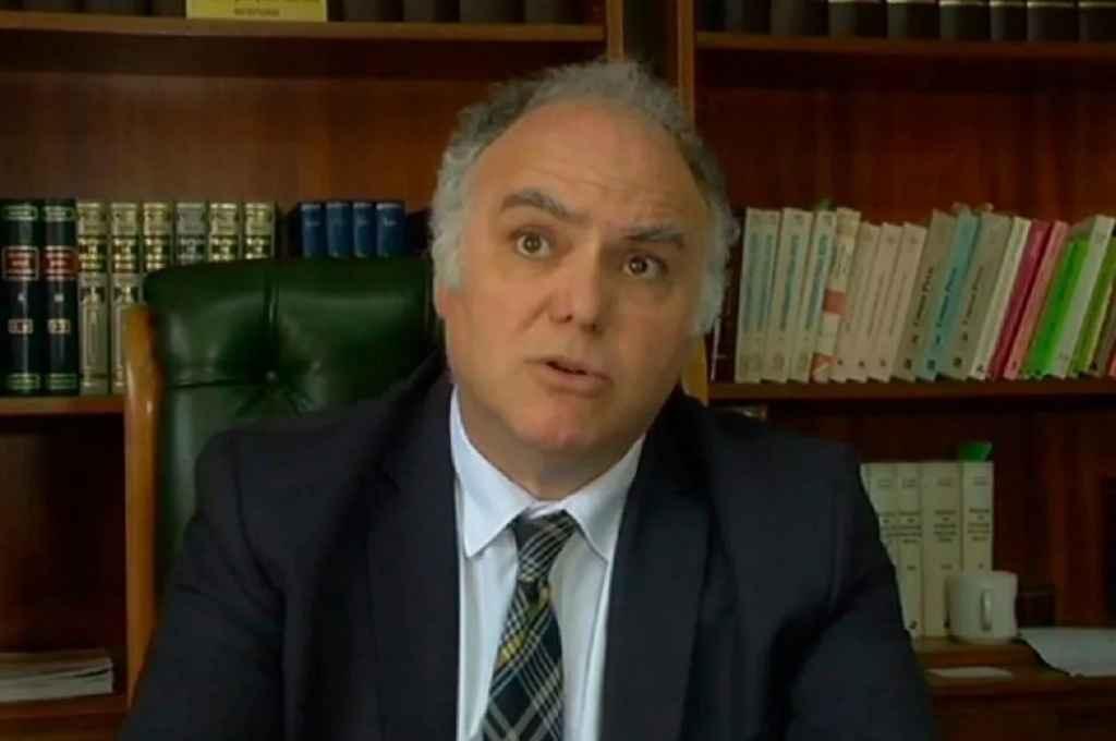 Santiago Ulpino Martínez, el fiscal recusado.      Crédito: Gentileza
