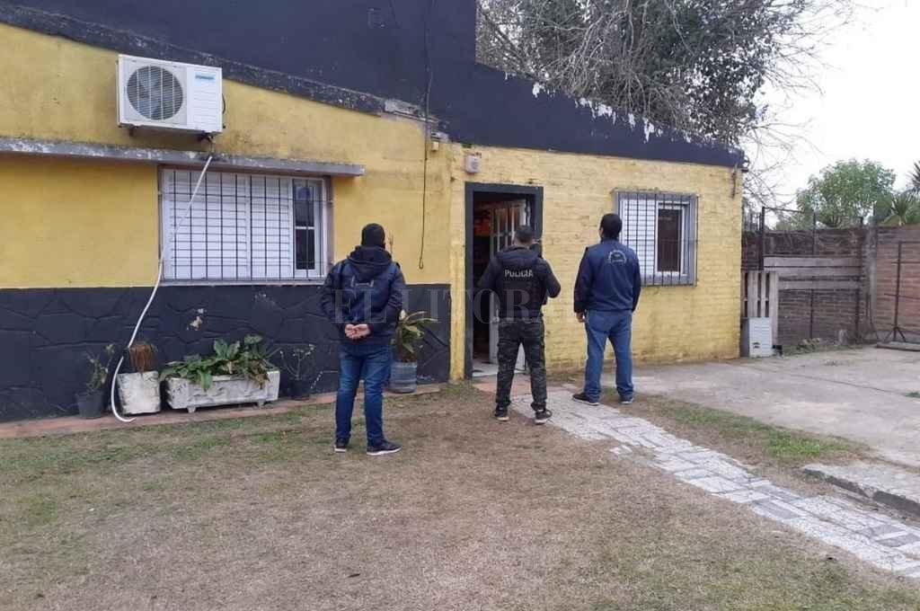 Durante un allanamiento los agentes secuestraron elementos vinculados a un hecho de robo en una ferrete Crédito: El Litoral