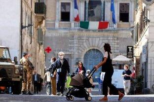 Italia registró una nueva baja en los casos de coronavirus