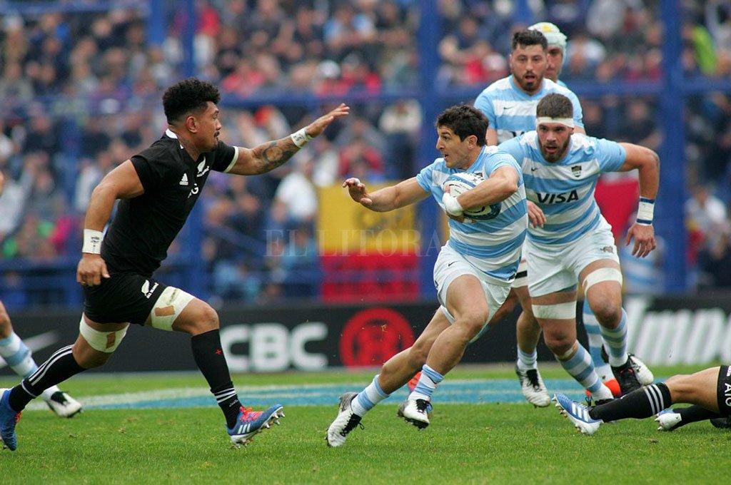 All Blacks-Pumas. Felizmente, volverán a encontrarse dentro de cuatro meses, seguramente en territorio kiwi, donde se desarrollará íntegramente el Rugby Championship 2020 Crédito: Archivo