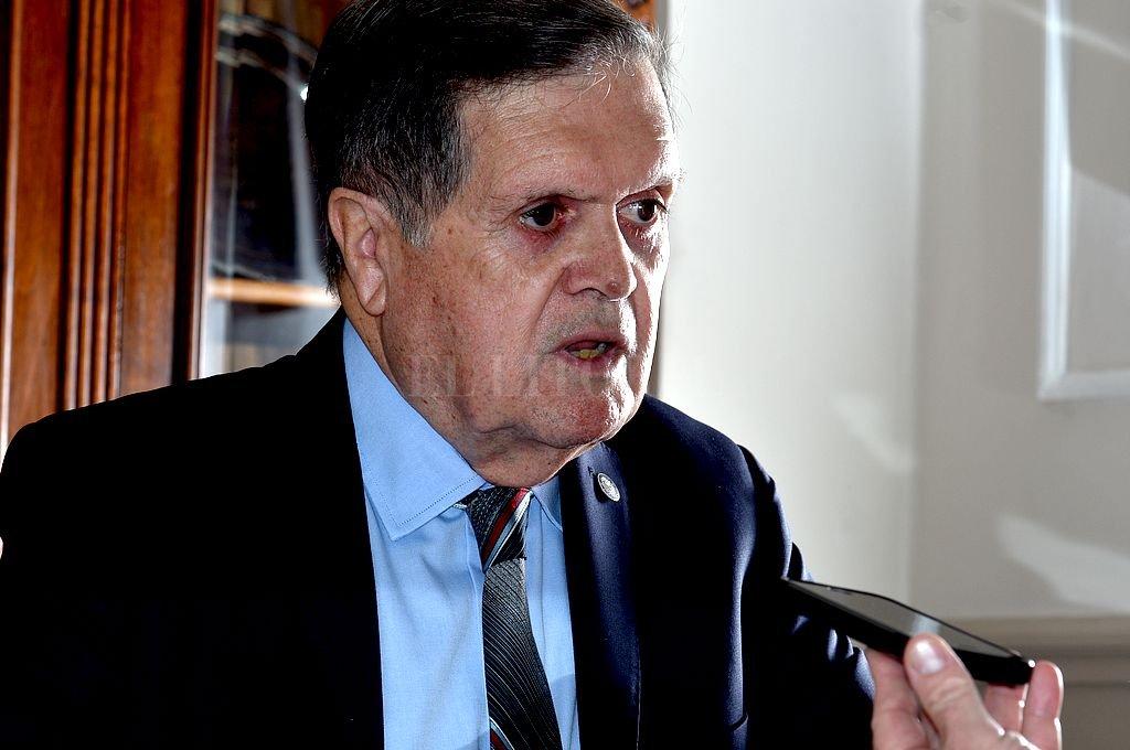 Ulises Mendoza, presidente de la Bolsa de Comercio de Santa Fe. Crédito: Guillermo Di Salvatore