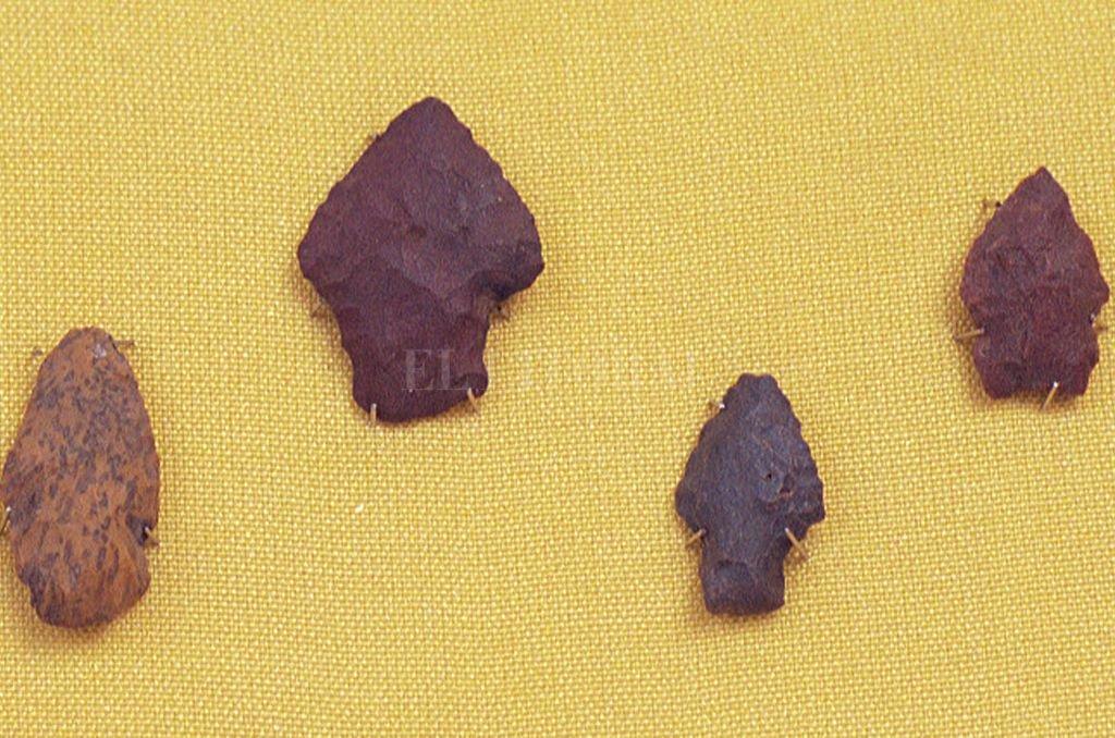Puntas de flechas Crédito: Archivo El Litoral