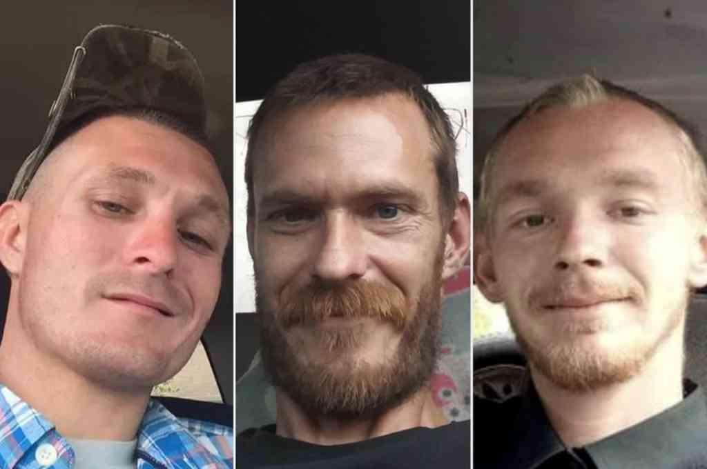 Brandon Rollins (27 años), Keven Springfield (30) y Damion Tillman (23), las víctimas de la masacre de Frostproof. Crédito: Agencias