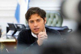Axel Kicillof y tres de sus ministros están en aislamiento por el contagio de un colaborador estrecho