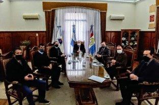 Gutiérrez recibió a senadores del interbloque de la UCR