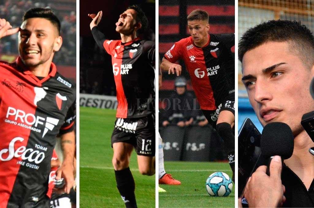 Sandoval, Chancalay, Farioli y Pierotti Crédito: El Litoral