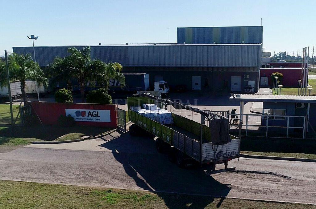 Artes Gráficas del Litoral (AGL) se consolidó desde hace 11 años como la empresa gráfica de mayor tecnología y la más importante de la región centro. Crédito: Fernando Nicola