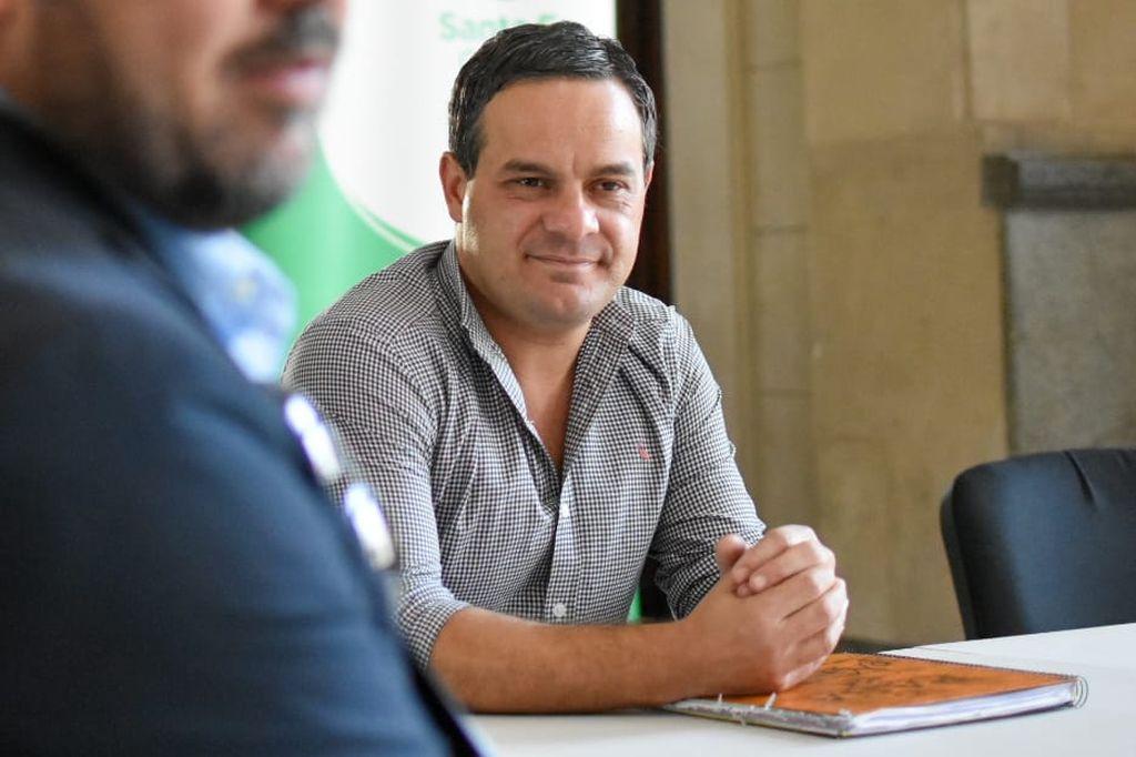 Concejal Leandro González Crédito: Gentileza