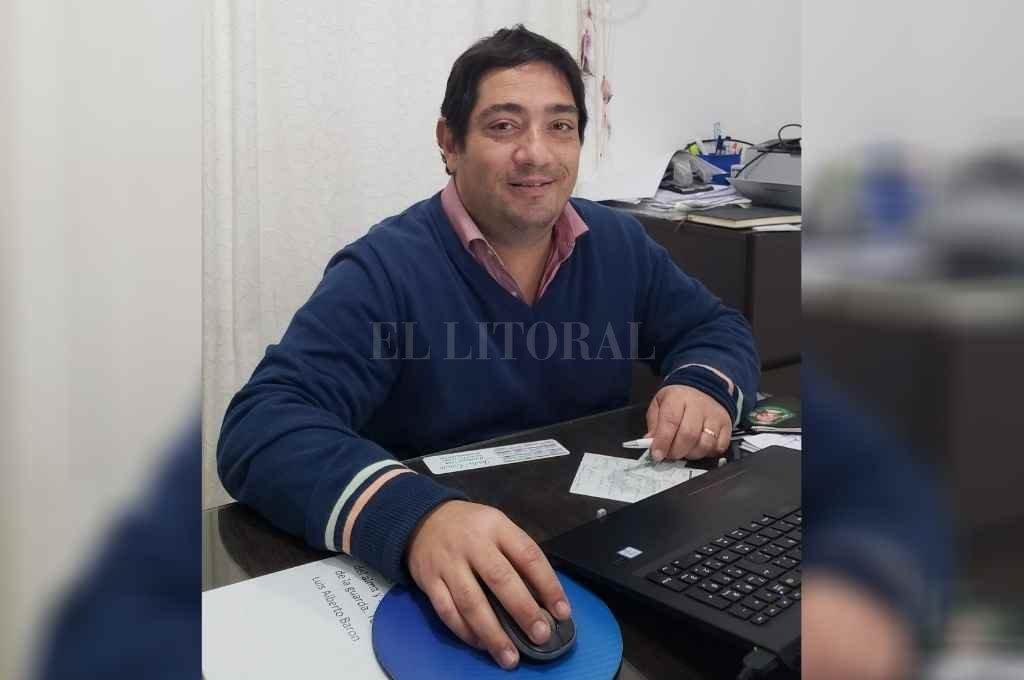 Darío Chiappini, presidente de la Federación Nacional de Cooperativas de Agua Potable.    Crédito: Gentileza Prensa Fencap